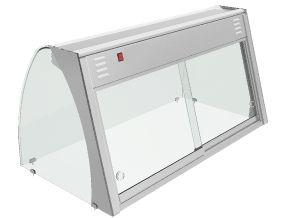 vitrinas expositoras con calefaccion