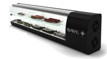 Vitrina sushi slim