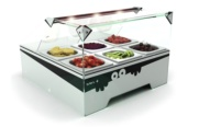 VITRINA TOPPING BOX MINI REFRIGERADA