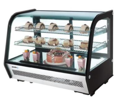 vitrina expositora refrigerada sobremesa edenox bares restaurantes buffette
