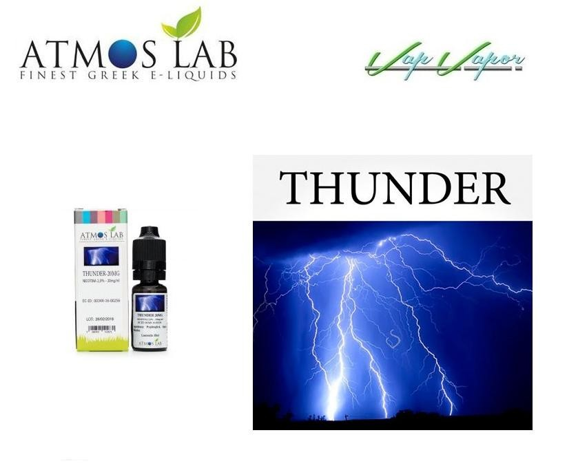Nicokit Thunder 10ml 20mg Atmos Lab (90%PG / 10%agua)