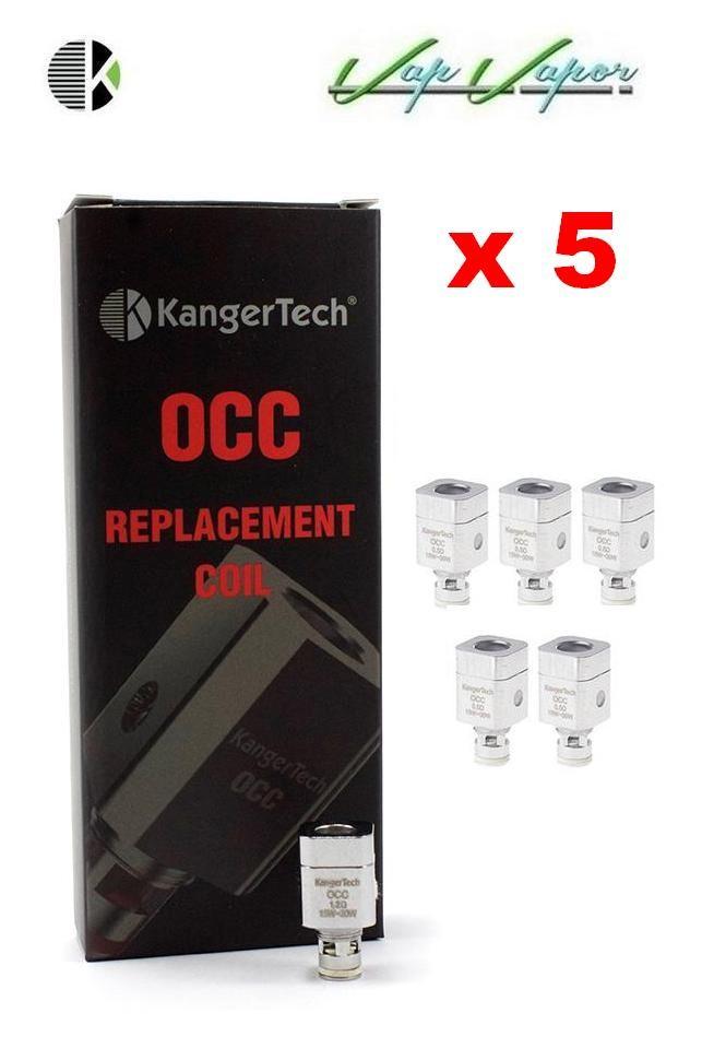 PACK Resistencias Kangertech OCC para Subtank