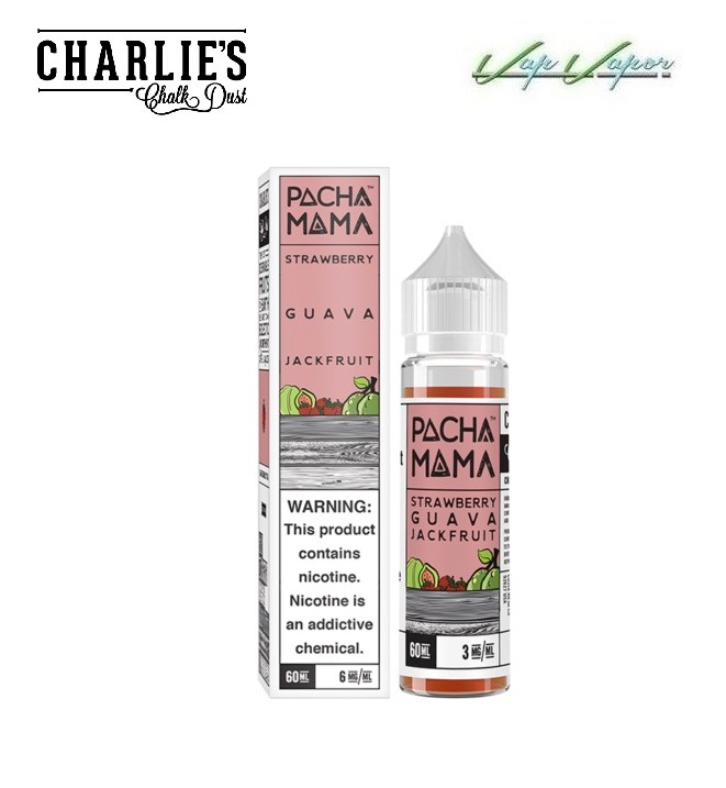 Pacha Mama Strawberry, Guava, Jackfruit 50ml