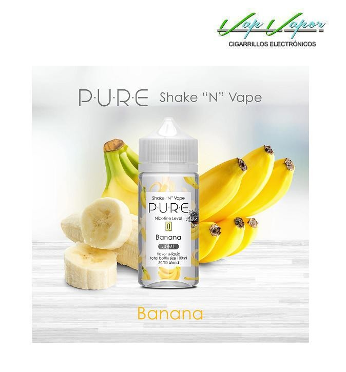 Banana 50%PG/50%VG PURE 50ml (0mg)