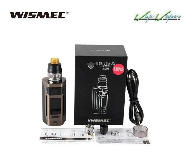 Mod Wismec Reuleaux RX2 20700 200W Kit Completo