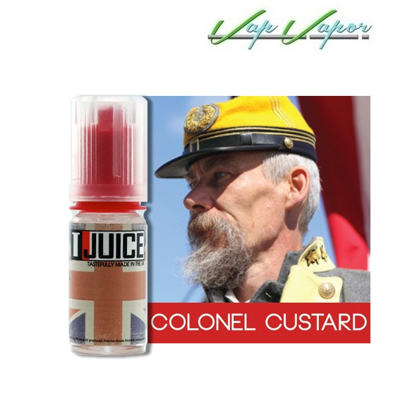 AROMA - Tjuice Colonel Custard 10ml 30ml - Ítem1