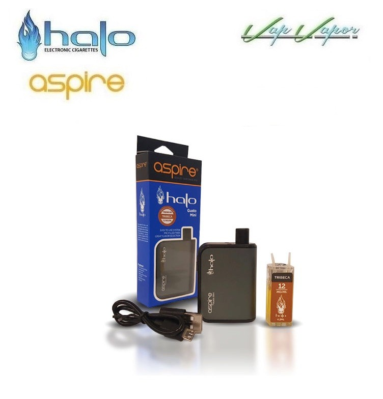 Halo Aspire Gusto Mini Kit de inicio 900ml