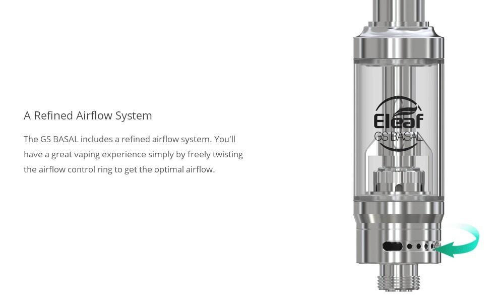 Atomizador GS Basal 1.8ml Eleaf - Ítem7