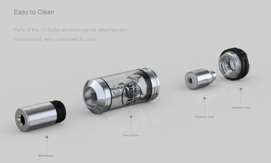 Atomizador GS Turbo Eleaf 1.8ml - Ítem2