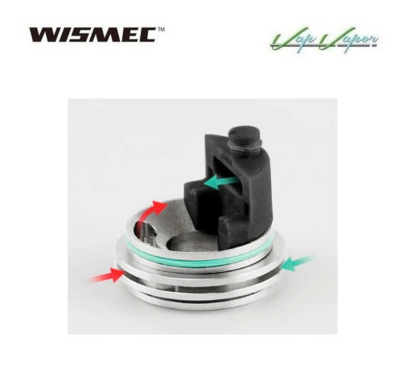 Atomizador Theorem Wismec Reparable - Ítem6