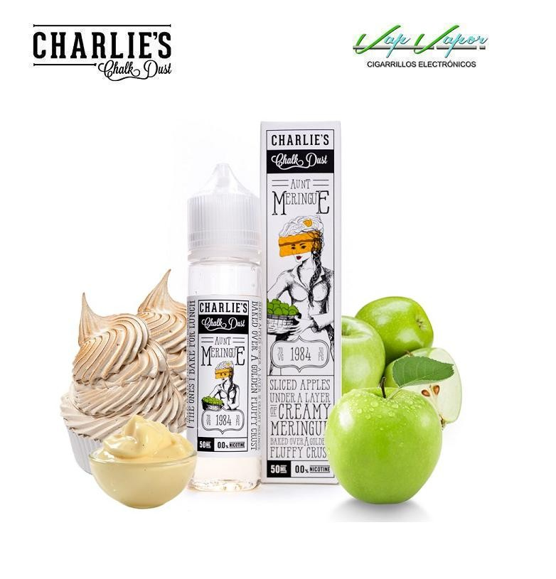 Meringue Aunt 50ml (0mg) Pastel, manzana,crema