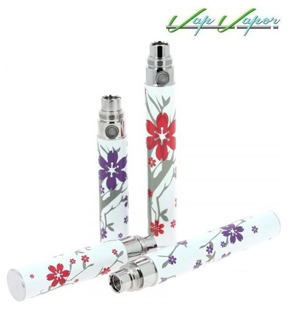 Baterías eGo Flor Roja / Lila 1100mah