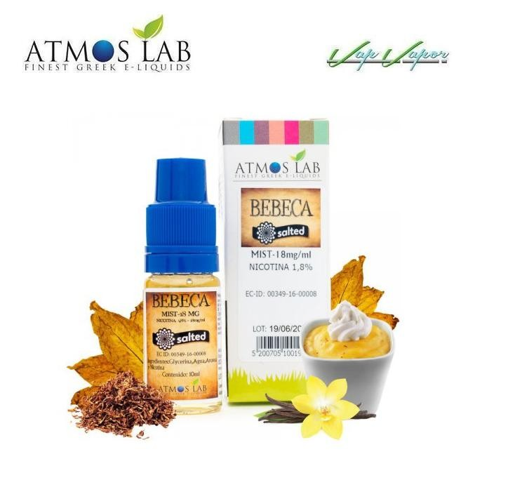 SALES Bebeca Salted Mist 10ml- 18mg Atmos Lab