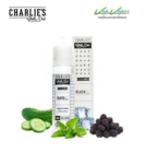 Charlies Chalk Dust Black Ice Menthol 50ml 0mg Moras, Menthol