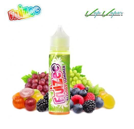 Bloody Summer NO FRESH Fruizee 10ml / 50ml (0mg)