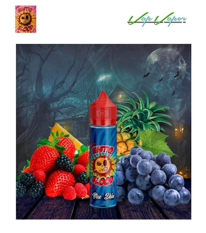 Mistiq BLOOD Blue Skin 50ml (0mg) Frutos Rojos, Piña, Uva