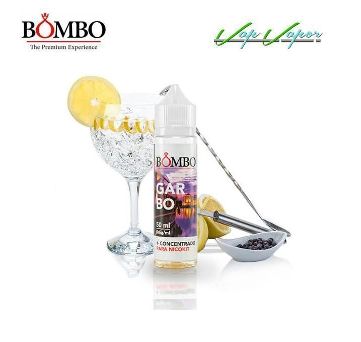 Bombo Garbo 10ml / 50ml(0mg) / 60ml (ginebra, limón)