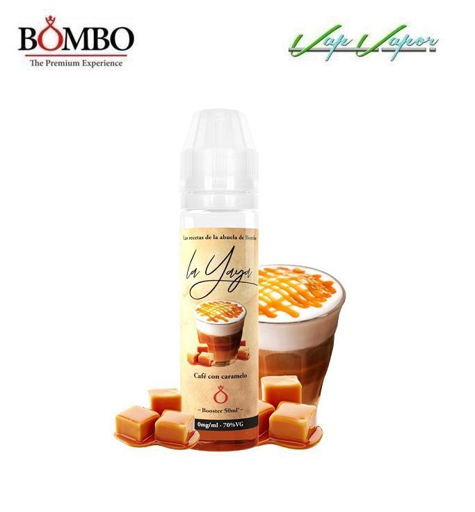 Bombo LA YAYA Café con Caramelo 50ml (0mg)