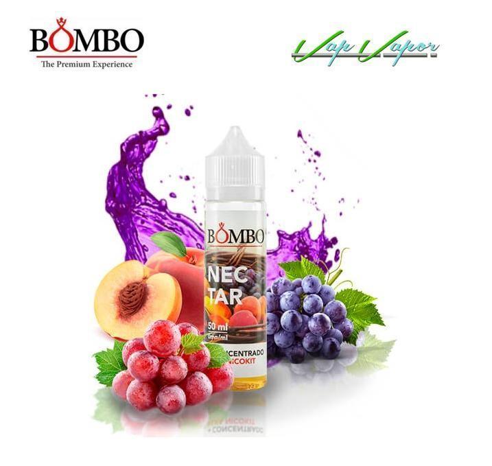 NUEVO Bombo Nectar VG (30PG/70VG) 30ml 60ml (Frutas, Zumo)