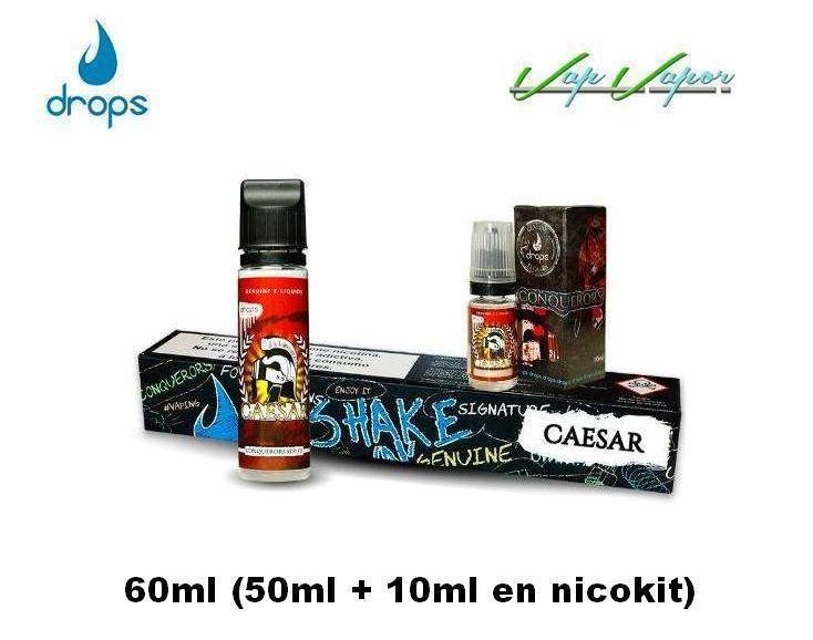 DROPS Caesar Conquerors Series 10ml / 30ml / 50ml(0mg) / 60ml (3mg) - Ítem2