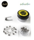 Pack 10 prebuilt twisted clapton coils Coil Art 0.9ohm