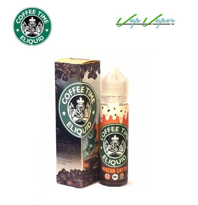 Mocha Latte Coffee Time 50ml (0mg)