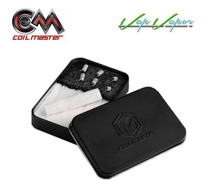 Pack 6 resistencias con Algodón Ready Box Coil Master - Ítem1