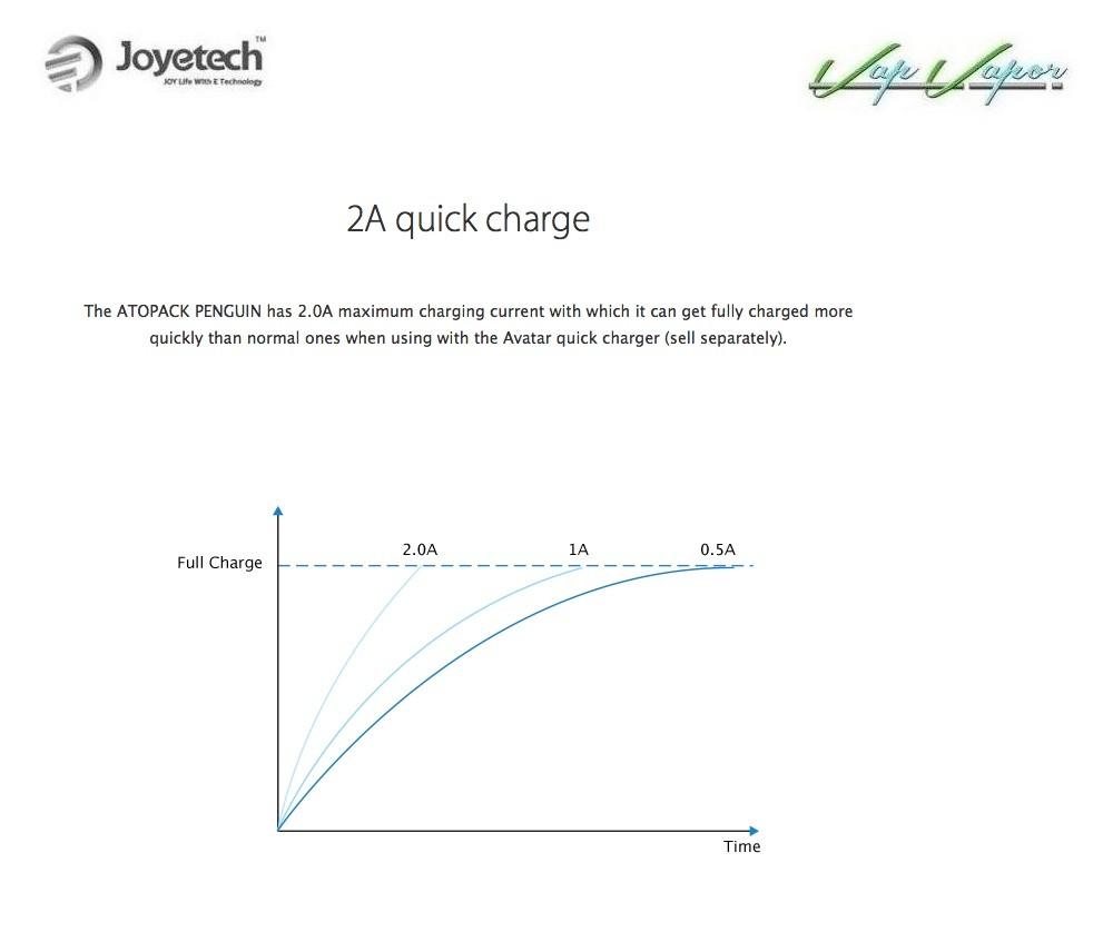 AtoPack Penguin SE Joyetech 2000mah 2ml Kit Completo - Ítem11