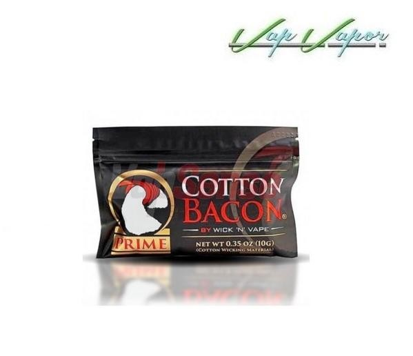 Algodon Bacon PRIME de Wick 'N' Vape (10 gramos)