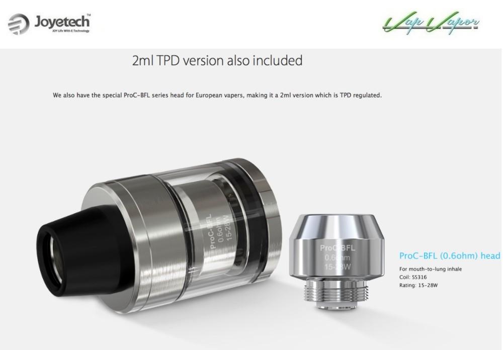 Atomizador Cubis 2 de 2ml Joyetech - Ítem11