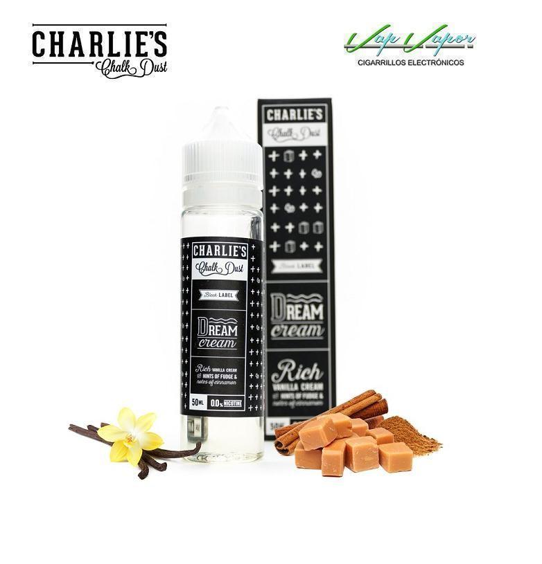 Charlies Chalk Dust Dream Cream (Vainilla, Caramelo, Canela) 50ml (0mg)