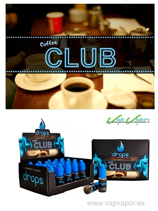 DROPS Coffee Club 10ml / 30ml