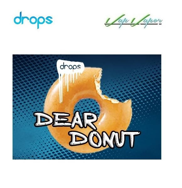 DROPS Dear Donut 10ml / TRIPACK (3x10ml) / 50ml 0mg