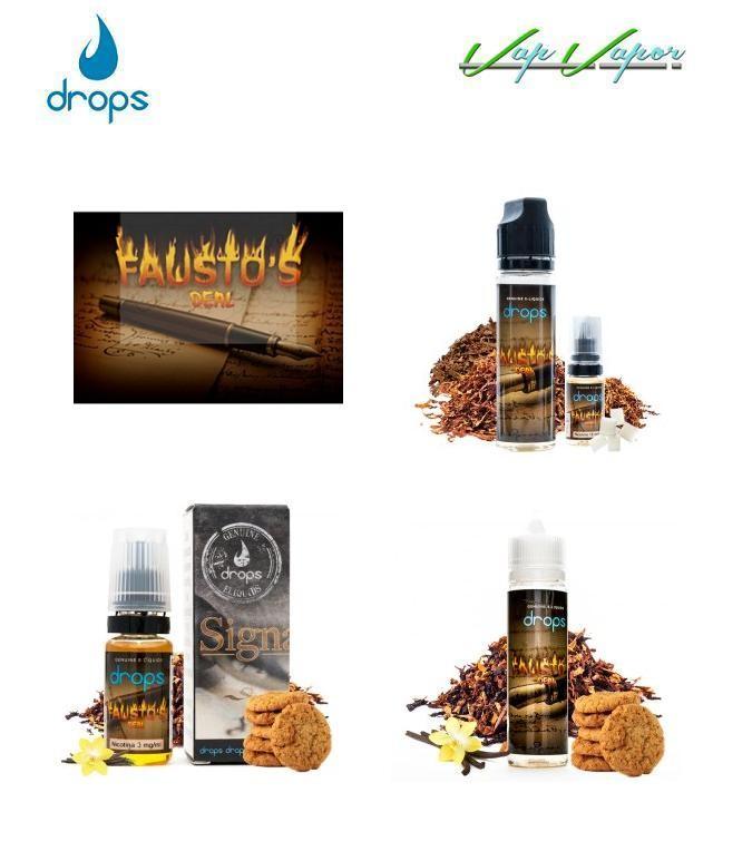 DROPS - Fausto s Deal 10ml / 30ml / 50ml (0mg) / 60ml(3mg)
