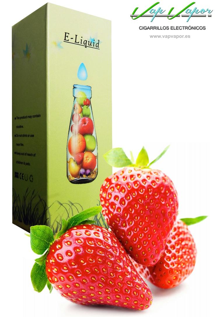 e-liquid Fresa (Strawberry)