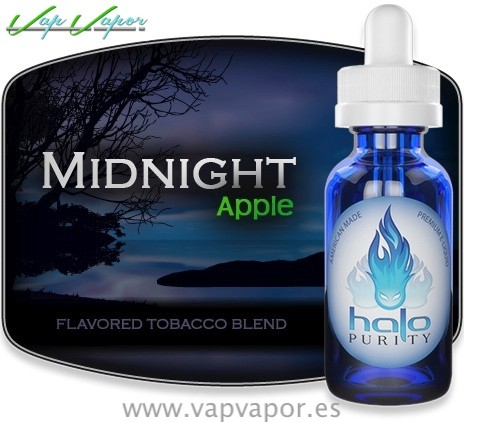 liquidos halo midnight apple