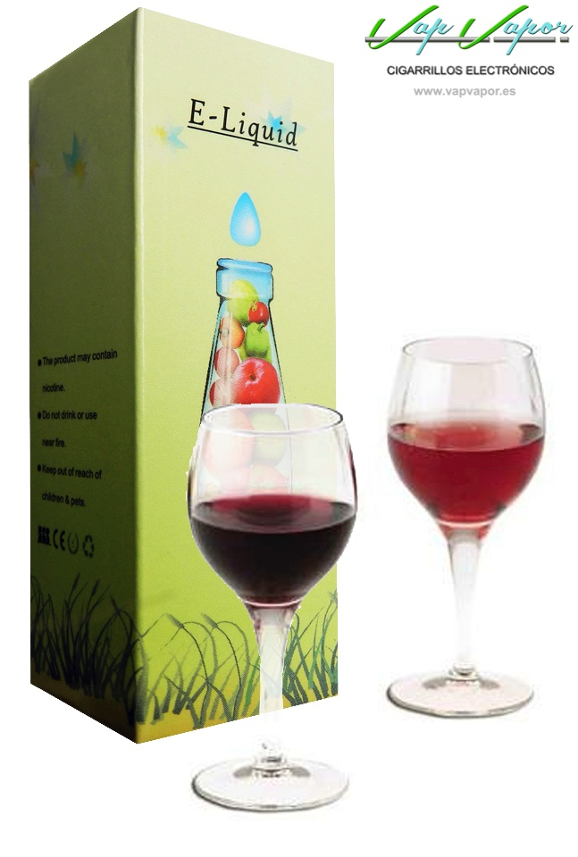 e-liquid Vino rosado (Red Wine)