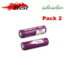 PACK 2 IMR 18650 Efest 3000mah Battery 35A