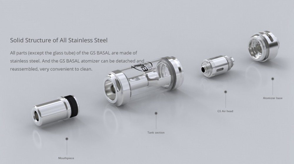 Atomizador GS Basal 1.8ml Eleaf - Ítem2
