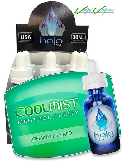 PACK 6 TRIPACKS - Halo - CoolMist - total 180ml