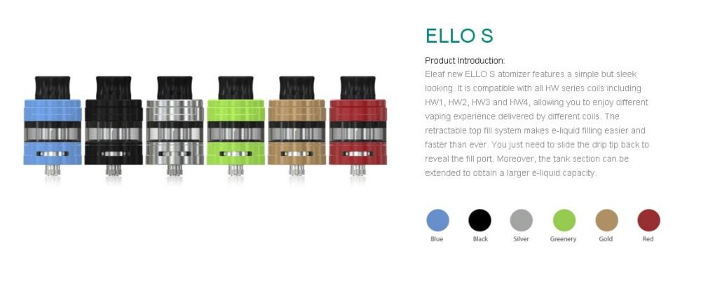 Atomizador Ello S 2ml Eleaf - Ítem8