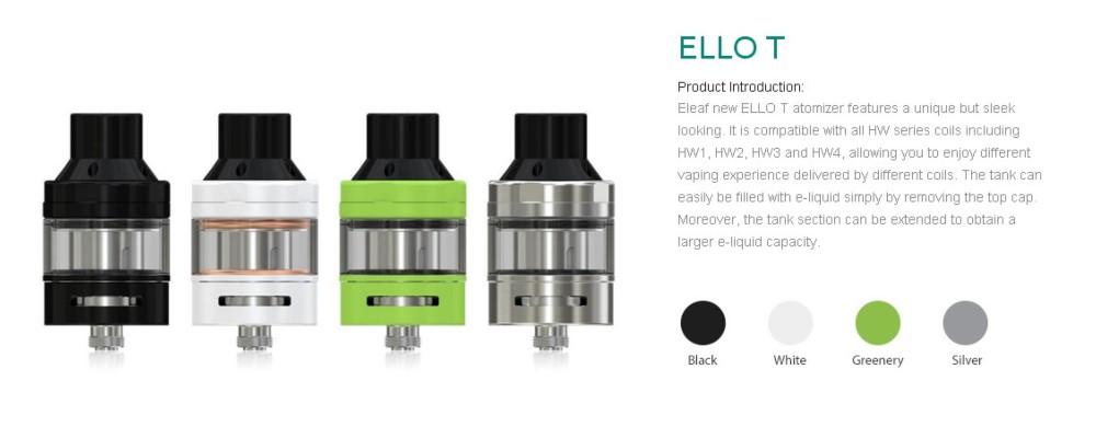 Atomizador Ello T Eleaf 2ml - Ítem6