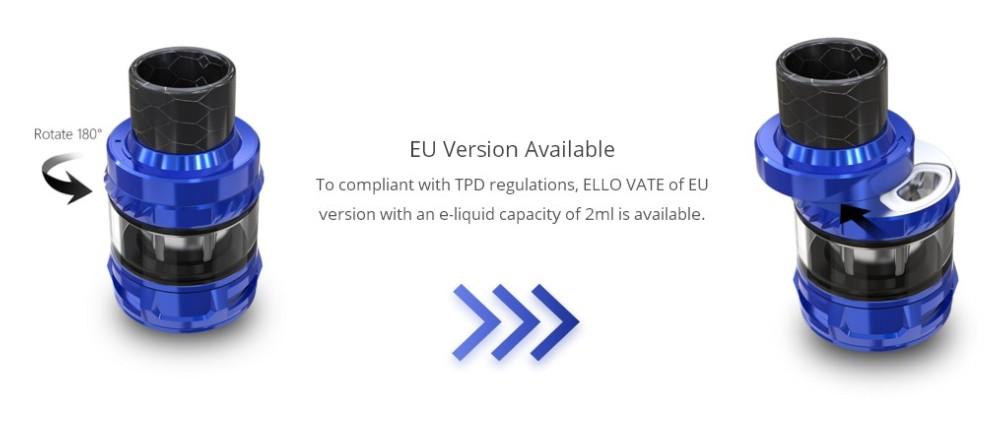 Atomizador Ello Vate 2ml /6.5ml Eleaf - Ítem6