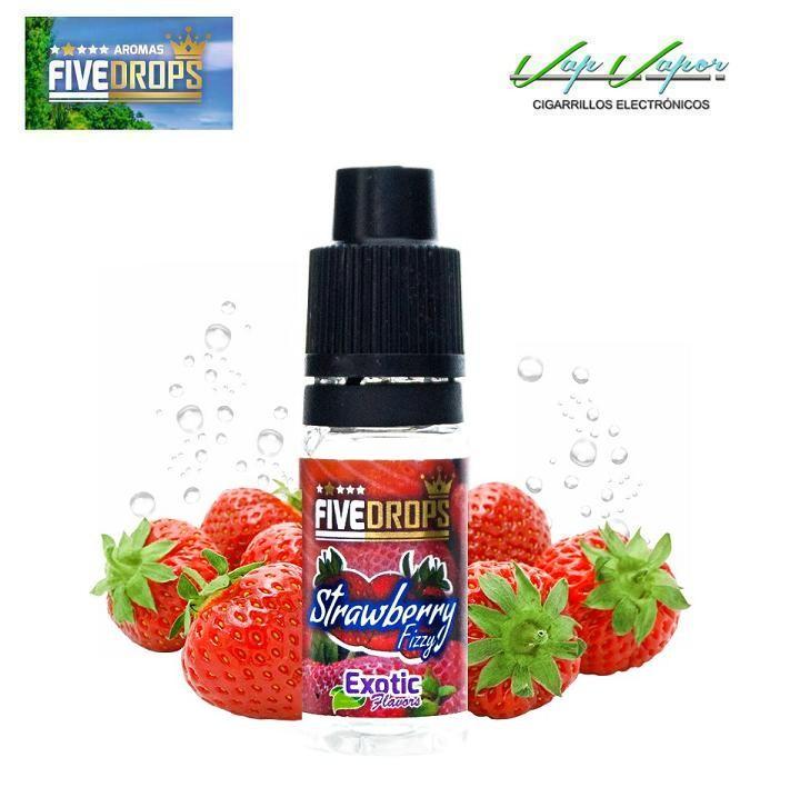 AROMA Strawberry Fizzy FIVE DROPS 10ml