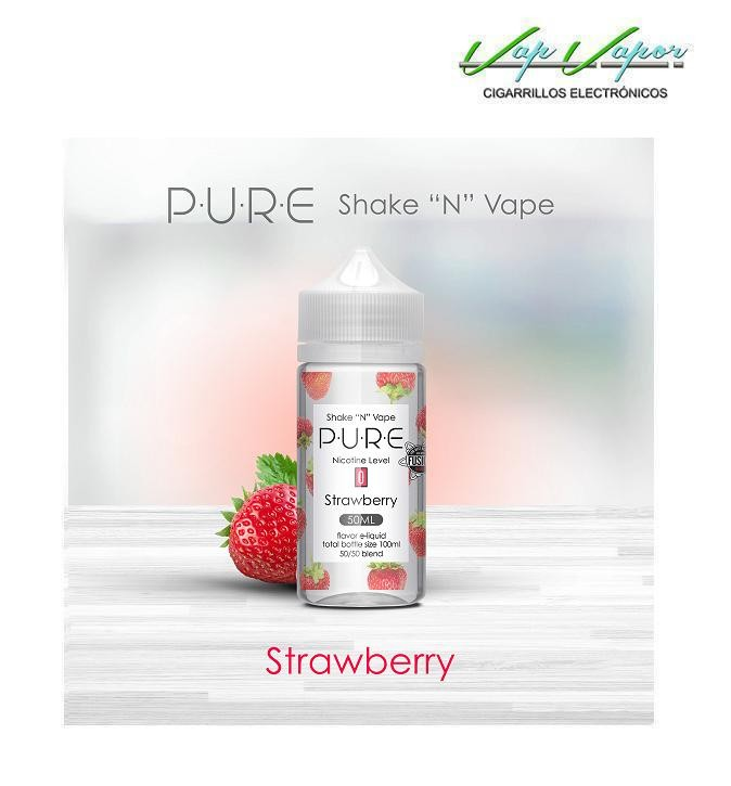 Strawberry (Fresa) 50%PG/50%VG PURE 50ml (0mg)