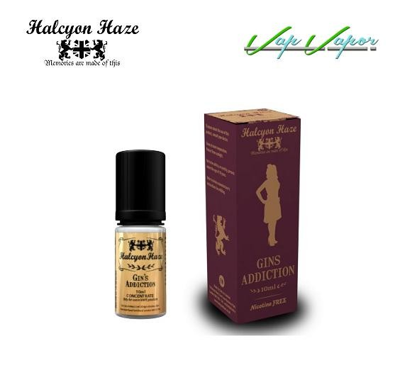 Halcyon Haze Gins Addiction 10ml