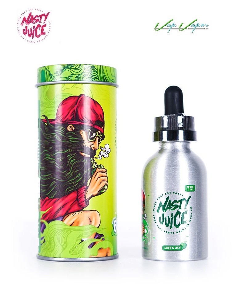 Green Ape Nasty Juice 50ml (0mg)