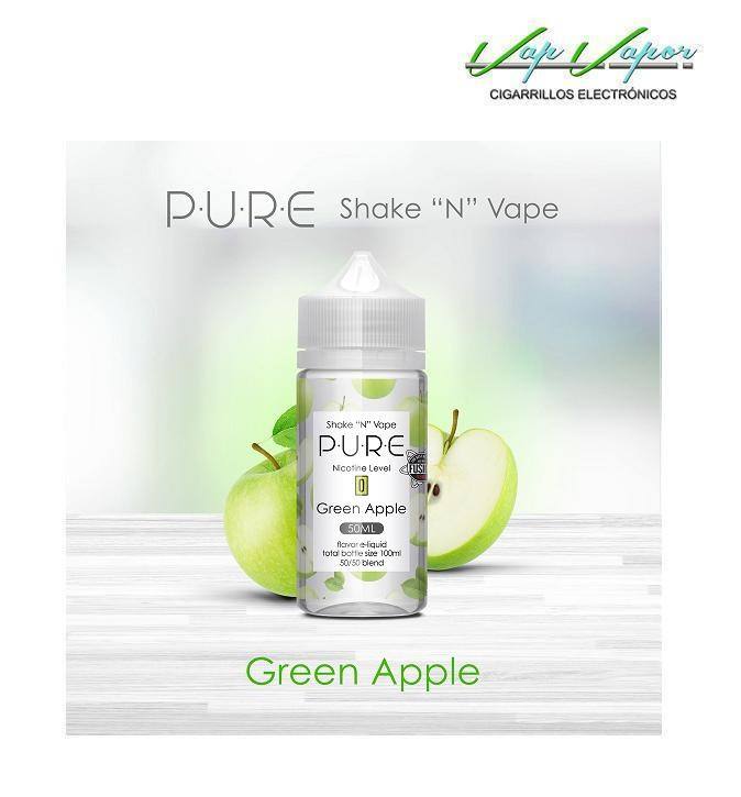 Green Apple (Manzana Verde) 50%PG/50%VG PURE 50ml (0mg)