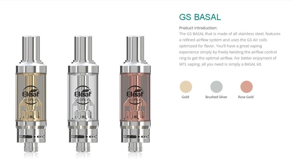 Atomizador GS Basal 1.8ml Eleaf - Ítem3