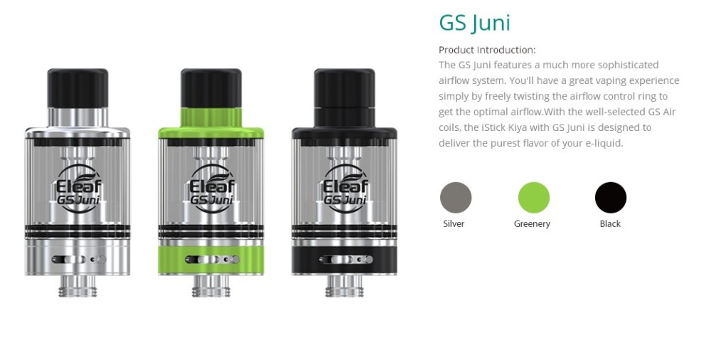 Atomizador GS Juni Eleaf 2ml - Ítem3